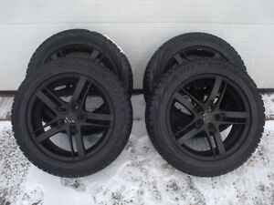 WINTER SNOW TIRES ALLOY WHEELS 225 55 17 Nissan Maxima