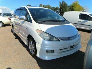 2001 Toyota Tarago ACR30R GLi White 4 Speed Automatic Wagon Minchinbury Blacktown Area Preview