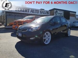 2014 Kia Rio SX/NAV/LEATHER/REVERSE CAMERA