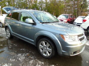 2010 Dodge Journey AWD, R/T, Loaded,Leather,Sunroof, 7 Passenger