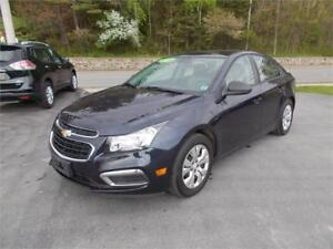 2016 CHEVROLET CRUZE 6 SPEED SEDAN LOADED $55 WKLY OAC