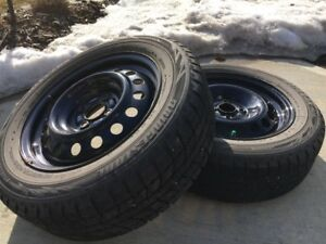 Full set Winter Tires with Rims (195 / 60R15)