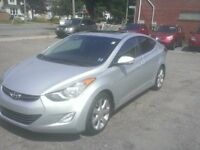 2013 Hyundai Elantra LIMITED! LOADED! Leather, auto, bluetooth