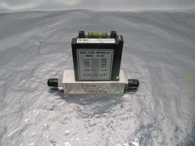 Tylan FC-261V Mass Flow Controller, MFC, N2, 20 SLPM, 100733