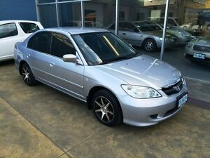 2005 Honda Civic 7TH GEN GLi Silver 4 Speed Automatic Sedan Hobart CBD Hobart City Preview