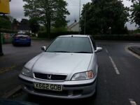 Honda Civic for sale need bit of tlc but still runs and drives