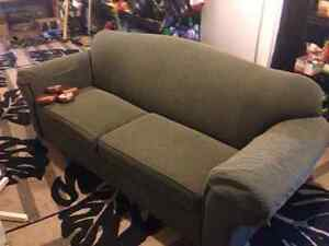 Double bed twin mattress sofa bed all very nice