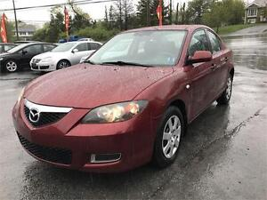 2009 Mazda Mazda3 GS, NEW MVI, LOW KMS, UNDERCOATED, HEATED SEAT