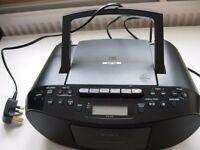 Sony CD, MP3 player Boombox with FM/AM radio and recordable