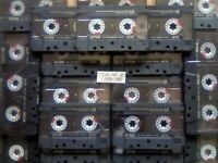 JL £69.99 & FREE P&P 20x GUARANTEED TDK AR 90 PREMIUM CASSETTE TAPES 1988-1989 W/ CARDS CASES LABELS