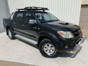 2008 Toyota Hilux KUN26R MY08 SR5 Black 4 Speed Automatic Utility Mundingburra Townsville City Preview