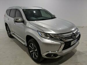 2016 Mitsubishi Pajero Sport QE MY17 Exceed Silver 8 Speed Sports Automatic Wagon Launceston Launceston Area Preview