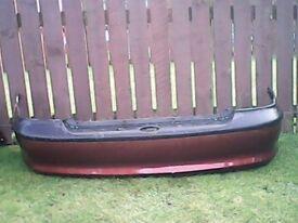 vauxhall vectra rear bumper