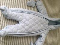 mamas and papas snowsuit - brand new