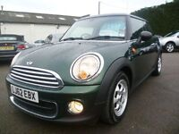 MINI HATCH ONE 1.6 ONE D 3d 90 BHP (green) 2012