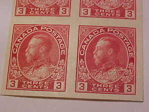 Canada George 5th Scott Imperforated Block MNH!! London Ontario image 3