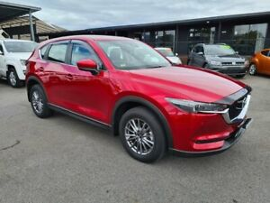2018 Mazda CX-5 KF4W2A Touring SKYACTIV-Drive i-ACTIV AWD Red 6 Speed Sports Automatic Wagon Bungalow Cairns City Preview