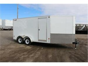 2016 CJay FX9 14' Enclosed V-Nose Cargo Trailer