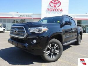 2017 Toyota Tacoma 6SPD MAN/CLEAN CARPROOF/MOONROOF/ALLOYS/NAVIG