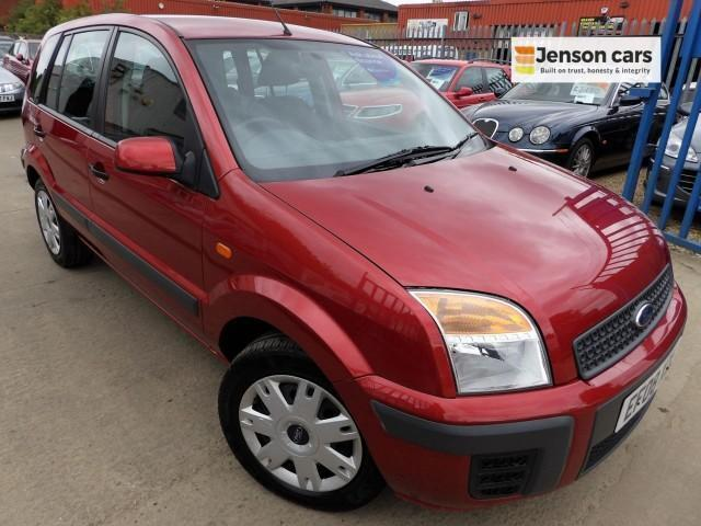 2008 08 FORD FUSION 1.4 STYLE CLIMATE 5D 68 BHP DIESEL