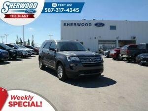 2018 Ford Explorer XLT 4WD - SYNC Connect, Leather, Moonroof