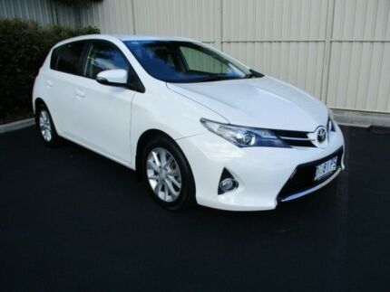 2013 Toyota Corolla ZRE182R Ascent Sport White 7 Speed CVT Auto Sequential Hatchback Devonport Devonport Area Preview