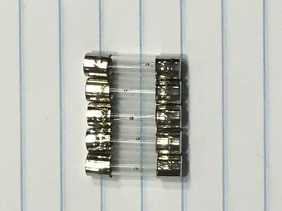1 LOT=Qty 5 Fuse MDL 0.5A 250V 0.5A250V Slow-Blow Glass Fuse 500 mA size 5X20 mm Mdl Slow Blow Fuses