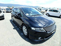 FRESH IMPORT 2008 FACE LIFT HONDA ODYSSEY ABSOLUTE AUTOMATIC 7 SEATER BLACK