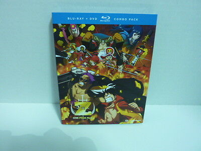 One Piece Film  Z   BLUE RAY + DVD COMBO PACK  BRAND NEW  factory sealed