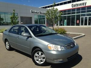 2004 Toyota Corolla LE, Sunroof, Two Sets of Tires True Mileage