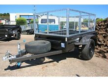 6x4 Heavy Duty Box Trailer with 600mm Cage - 5 Leaf Springs, Tube Fyshwick South Canberra Preview