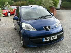2008 PEUGEOT 107 SPORT 998cc 3DOOR BLUE 12 MONTH M.O.T. NEW CLUTCH £20 A YEAR ROAD TAX