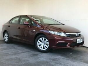 2012 Honda Civic 9th Gen Ser II VTi Red 5 Speed Sports Automatic Sedan Mount Gambier Grant Area Preview