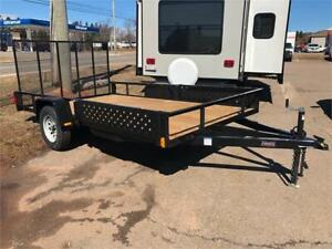 2019 Force 82 X 14 Utility Trailer ATV Package