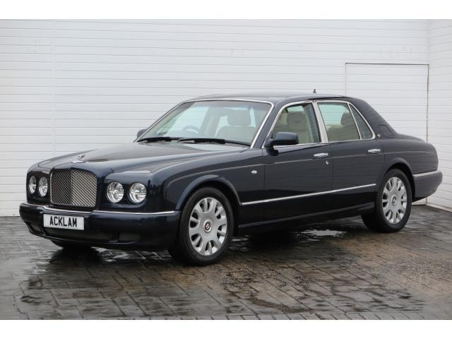 2004 Bentley Arnage 2004 Bentley Arnage 6.8 R Auto Luxury 4 Door Petrol blue Aut