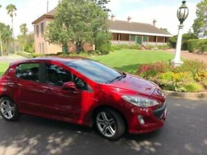 2010 Peugeot 308 T7 Sportium Red 6 Speed Sports Automatic Hatchback Newstead Brisbane North East Preview