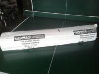 Visqueen damp proof membrane, Black 4m x 25m, Plastic sheeting, 3 Rolls £20 Each