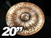 "20"" Custom China Cymbal - Hand Hammered B8 - 1852g"