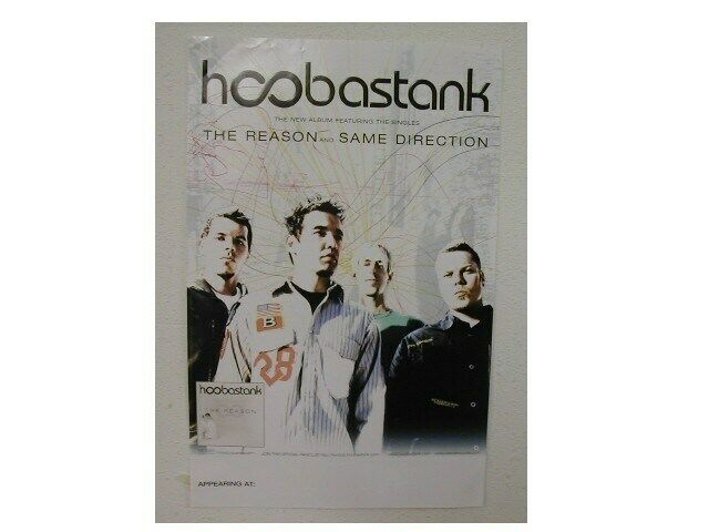 Hoobastank Poster The Reason Promo