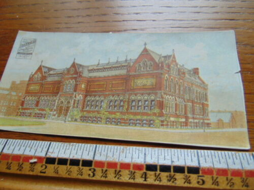 1880s Antique Adv. card- Boraxine- Larkin Soap- Boston Museum of Art