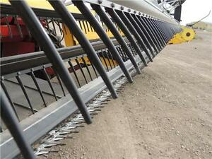 2012 NH H8060 Swather 36', 2 Roto Shears, Roller, Ez-Pilot,524hr Regina Regina Area image 8