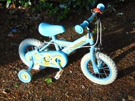 Child's bike, lightly used, good condition