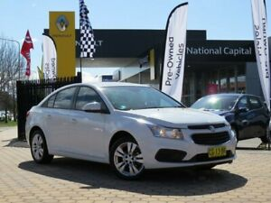 2015 Holden Cruze JH Series II MY15 Equipe White 6 Speed Sports Automatic Hatchback Greenway Tuggeranong Preview