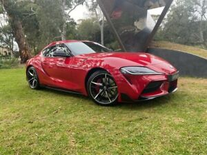 2019 Toyota Supra J29 GR GTS Monza Red 8 Speed Sports Automatic Coupe Hawthorn Mitcham Area Preview