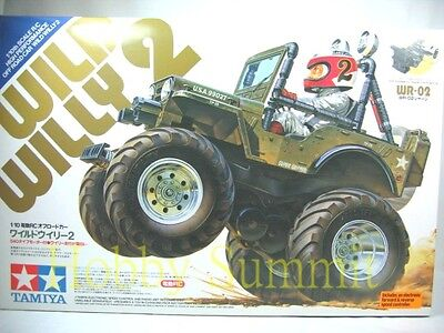 Tamiya 1/10 R/C   WILD WILLY 2   Off Road Stunt Car   WR-02 Chassis  # 58242