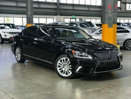 2017 Lexus Ls600h Uvf45r F Sport Sedan 4dr Cvt 8sp Awd 5 0i 165kw Hybrid Black Constant Variable