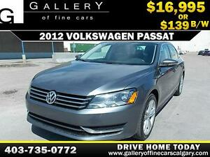 2012 Volkswagen Passat $139 bi-weekly APPLY NOW DRIVE NOW
