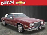 Miniature 1 Voiture Américaine de collection Cadillac Eldorado 1983