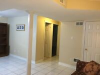 Nice Clean 2 Bedrooms Basement Apartment for Rent