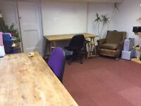 Desk space (x2) in Stokes Croft, Bristol, £100 ono suit Freelance/creative/artist